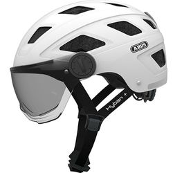 Hyban + white cream smoke visor, L = 58-63cm