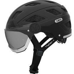 Hyban + black smoke visor, L = 58-63cm