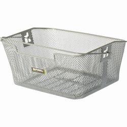 Gepäckträger-Korb CAPRI engmaschig silber