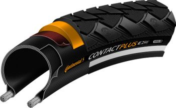 Conti CONTACT Plus 42-622 schwarz Reflex