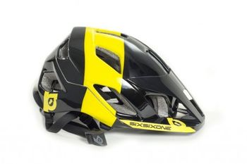 661 Evo AM Helm, black/yellow, XS-S