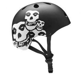 661 Dirt Lid Helm Misfits, black, one size