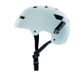 7iDP M3 Helm, matt white/black, S/M, 52-58cm