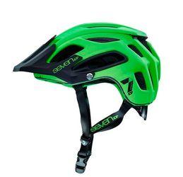 7iDP M2 Helm, neon lime/black, M/L, 55-59cm