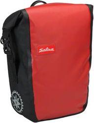 Salsa Touring Packtasche, Vorderrad, red