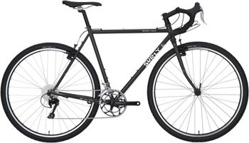 Surly Cross Check Cyclocross Komplettrad, 700C, 42cm, gloss black