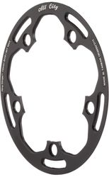 All-City Chainring Guard, 110mm, 36 Z., black