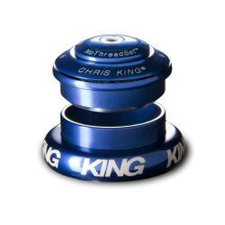 "Chris King InSet I8 Tapered Steuersatz, 1 1/8""-1 1/4"", GripLock, navy ZS44/28.6 | EC44/33"