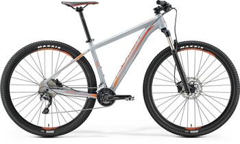 MERIDA BIG.SEVEN 500 2017 MATT-GRAU(ROT/ORANGE)