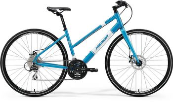 MERIDA CROSSWAY URBAN 20-MD LADY 2017 METALLIC-BLAU(WEIß)