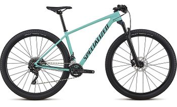 SPECIALIZED WOMEN'S CHISEL COMP SATIN GLOSS ACID MINT / BLACK