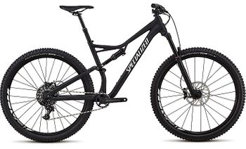 "SPECIALIZED STUMPJUMPER FSR COMP 29"" BLK/WHT 2018"