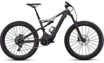 SPECIALIZED LEVO FSR EXPERT CARBON 6FATTIE CE CARB/SILVER 2018