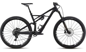 SPECIALIZED ENDURO FSR ELITE CARBON 29/6FATTIE BLK/WHT TESTBIKE !
