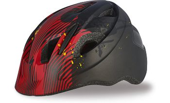 SPECIALIZED MIO HLMT CE BLK/RED FLAMES TDLR