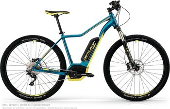 CENTURION BACKFIRE FIT E R650.27 2018 PAZIFIKBLAU/LIME