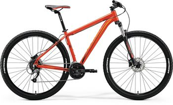 MERIDA BIG.NINE 40-D 2018 MATT-ROT(ORANGE/SCHWARZ)