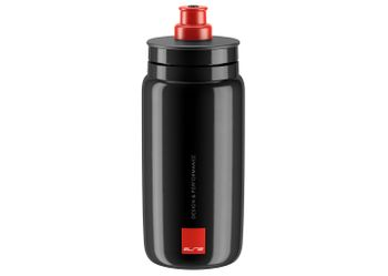 FLASCHE FLY BLACK 550ML LOGO RED .