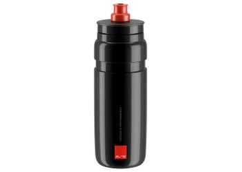 FLASCHE FLY BLACK 750ML LOGO RED .