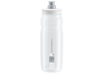ELITE Trinkflasche FLY CLEAR 750ml grüne Grafik