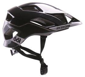 SixSixOne EVO AM Helm, metallic black, XL-XXL, 60-62cm