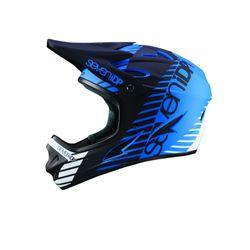 7iDP Seven M1 Tactic Fullface Helm, blue/black/white, L, 58-60cm
