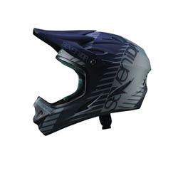 7iDP Seven M1 Tactic Fullface Helm, black/graphite, XXXS/youth M, 48-50cm