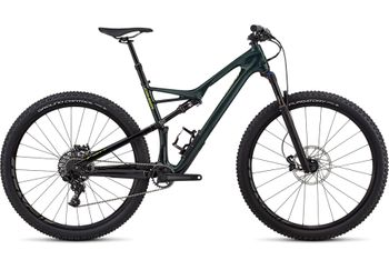 SPECIALIZED CAMBER FSR COMP CARBON 29 2X GLOSS CAVGRE / HYPGRE CLEAN 2018