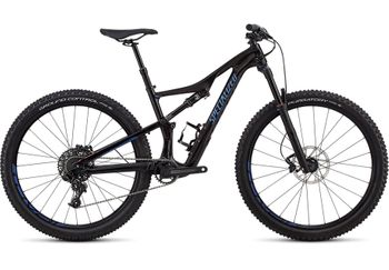 SPECIALIZED CAMBER FSR WMN COMP CARBON 27.5 BLKTNT/CMLN 2018