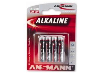 Ansmann Batterie Typ AAA / Mignon VE 4 Stück