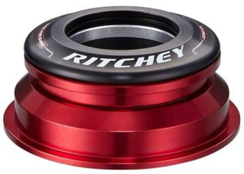 "Ritchey Steuersatz semi integriert SUPERLOGIC Zero Press Fit Taper 1 1/8"" - 1,5"" - schwarz/rot"