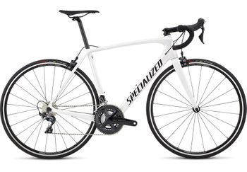 SPECIALIZED TARMAC MEN COMP METALLIC WHITE SILVER/SATIN BLACK/CLEAN