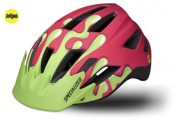 SPECIALIZED SHUFFLE LED SB HELM MIPS CE ACIDPNK SLIME YOUTH
