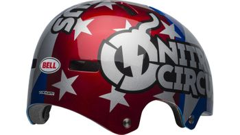 BELL LOCAL RED/SILVER/BLUE NITROCIRCUS 19 – Bild 5