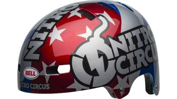 BELL LOCAL RED/SILVER/BLUE NITROCIRCUS 19 – Bild 7