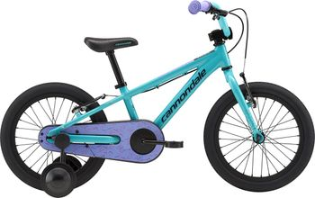 "CANNONDALE TRAIL BALANCE 16"" GIRL´S, TURQUOISE"