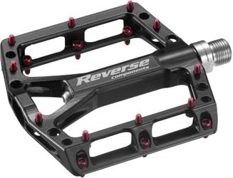 REVERSE Pedale MTB Black One - schwarz/rot