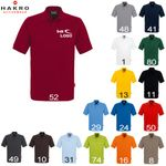 HAKRO Polo-Shirt performance, 200g, men, bestickt mit Logo/Motiv 001