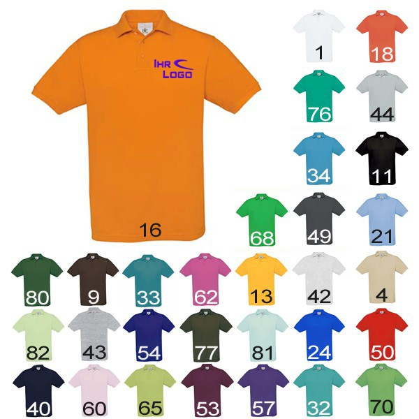 Polo-Shirt 180g – Bild 1