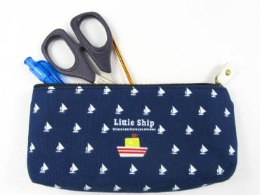 Boat Ship Bag Bag Miniblings Pencil Case Makeup Case Ship Sailing Blue – Bild 4