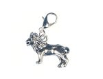 Leo Lion Charm For Bracelet Miniblings Charms Lion Afrika Silver New
