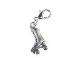 Rollschuh Stiefel Charm Anhänger Bettelhänger Miniblings Skates hoch silber