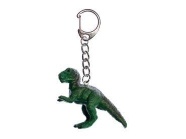 T-Rex Schlüsselanhänger Miniblings Tyrannosaurus Dino Dinosaurier grün – Bild 1