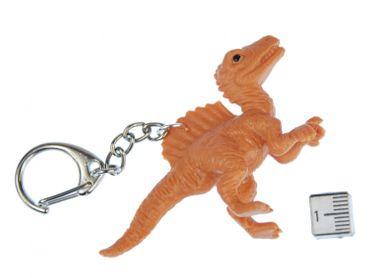 Spinosaurus Schlüsselanhänger Miniblings Schlüsselring Dino Dinosaurier Kamm – Bild 2