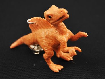 Spinosaurus Schlüsselanhänger Miniblings Schlüsselring Dino Dinosaurier Kamm – Bild 3