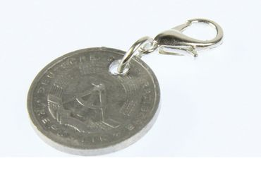 5 GDR Pfennig Charm Pendant Miniblings Coin Money Nostalgia New – Bild 4
