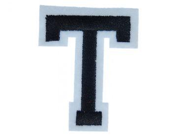 Buchstaben Initialen Alphabet ABC Bügelbild Patch Miniblings 5cm Buchstabe T – Bild 1