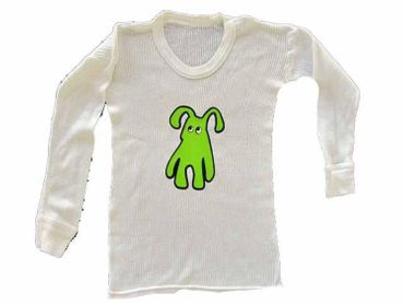 Infant T Rib Kalle Fux Handmade Long Sleeve T-Shirt Dog 86/94 – Bild 1