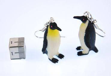 Pinguin Ohrringe Pinguinohrringe Pinguine Miniblings Südpol Frack Meer Gummi – Bild 3