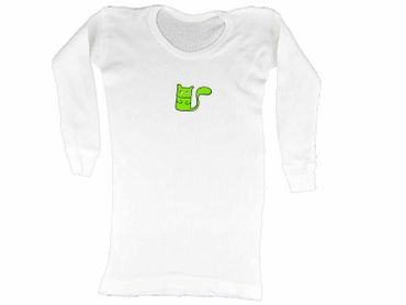 Infant Tshirt T-Shirt T Kalle Fux Longsleeve T-Shirt Squirrels Green 86 – Bild 1